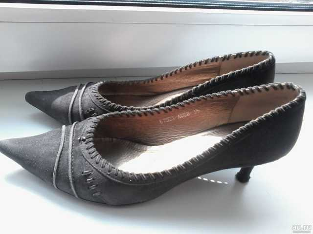 Продам: Туфли замшевые (нат. кожа) р.36