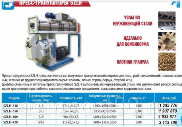 Продам: Грануляторы SZLH (2-16 т/ч)