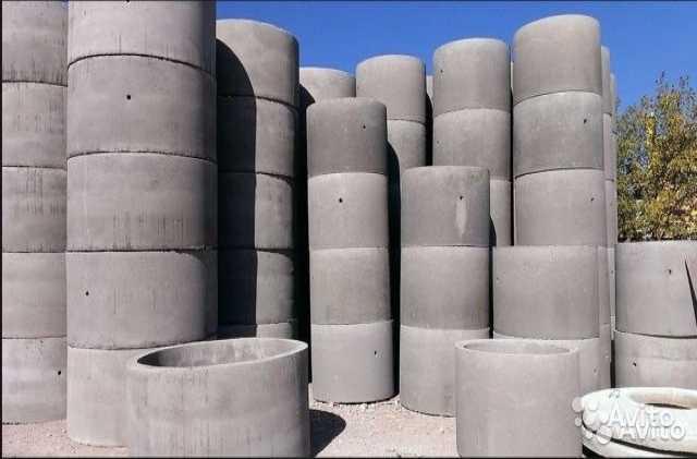 Продам Кольца бетонные от завода ЖБИ Колодец Се