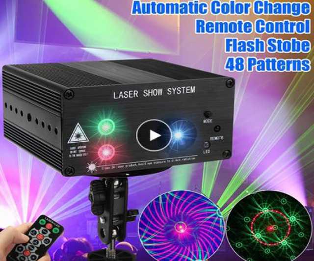 Продам светомузыка лазерный проектор
