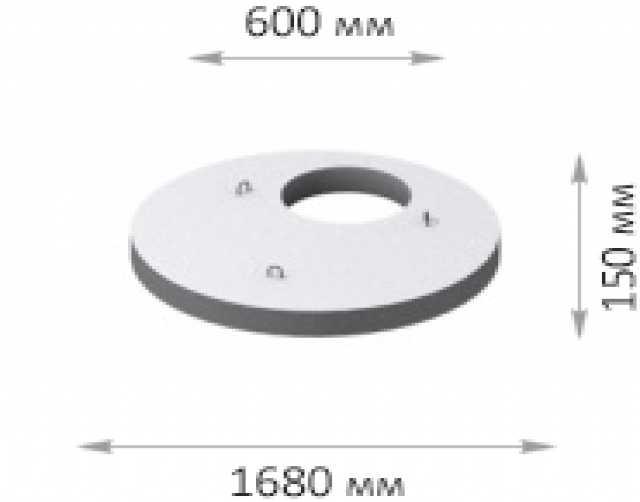 Продам Верхняя плита перекрытия (усиленная) 2пп
