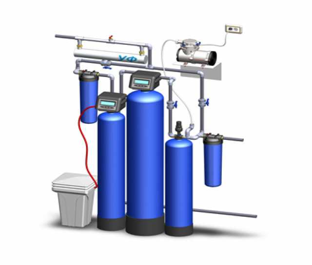 Продам Фильтры обезжелезивания и умягчения воды