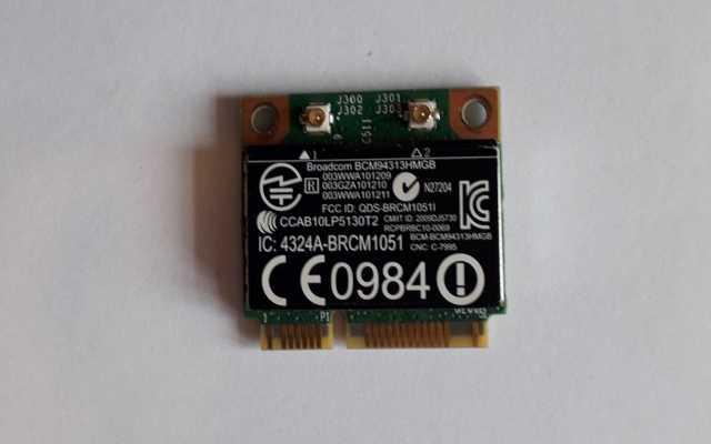 Продам: Модуль Wi-Fi mini PCI-E Broadcom