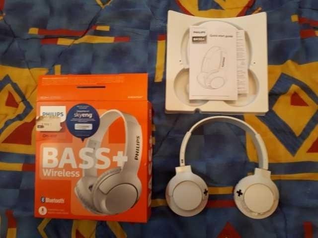 Продам Наушники блютус Philips bass+ SHB3075