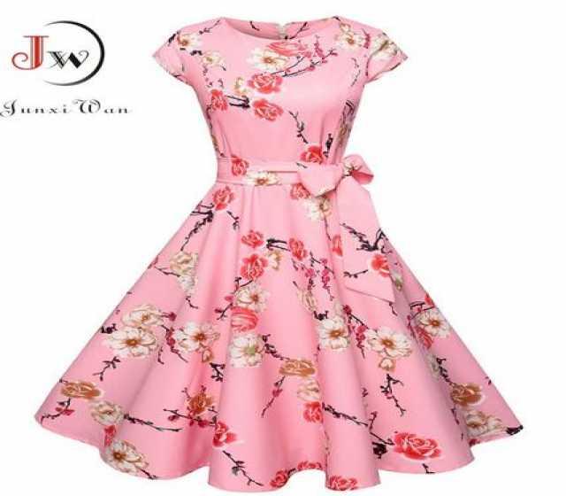 Продам Женское винтажное платье в стиле рокабил