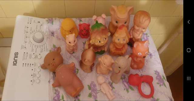 Продам Игрушки СССР резиновые