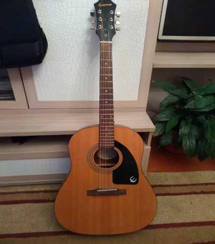 Продам Б\У Гитара epiphone AJ-100 NA + Чехол