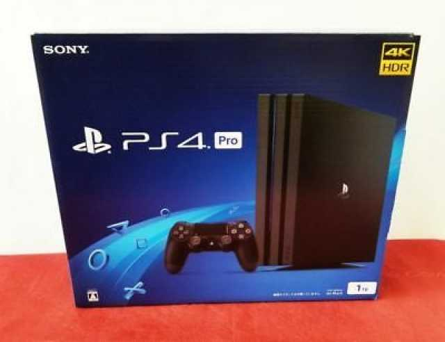 Продам Sony PS4 Pro Console 1TB + NEW Wired Con