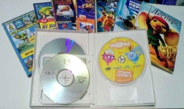 Продам ДВД - диски. Фильмы и мультфильмы