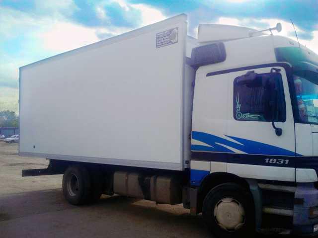 Предложение: Фургоны изотермические