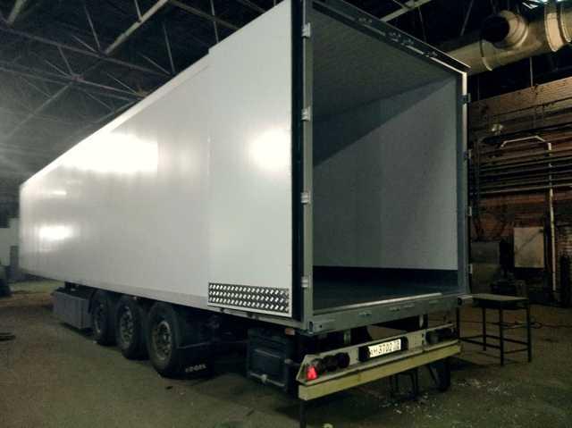 Предложение: ремонт полов в кузовах фургонах