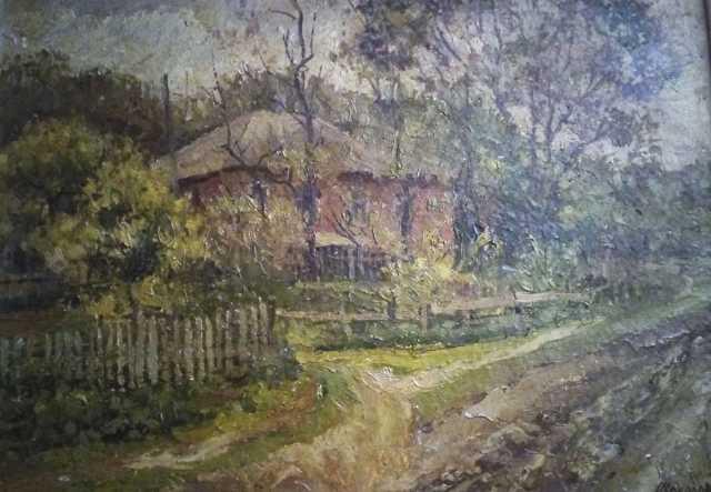 Продам Картина маслом «Весенняя зелень», художн