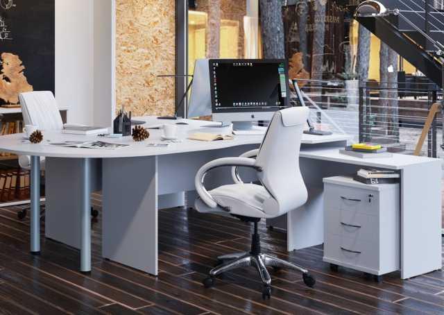 Продам Белая мебель для офиса