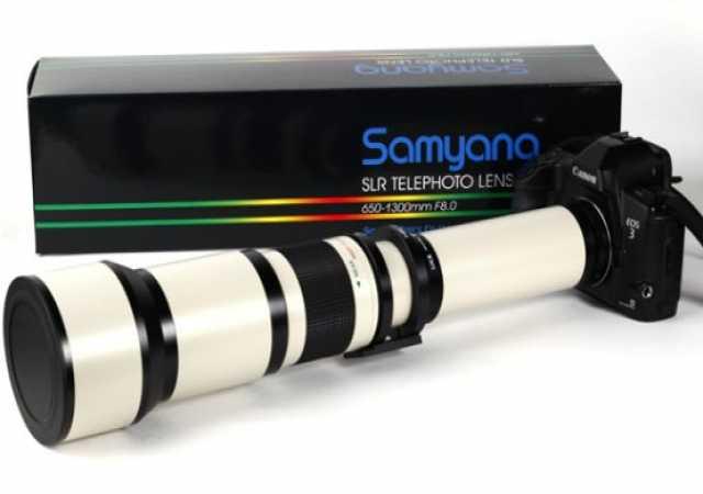 Продам Объектив Samyang 650-1300mm f/8.0-16.0
