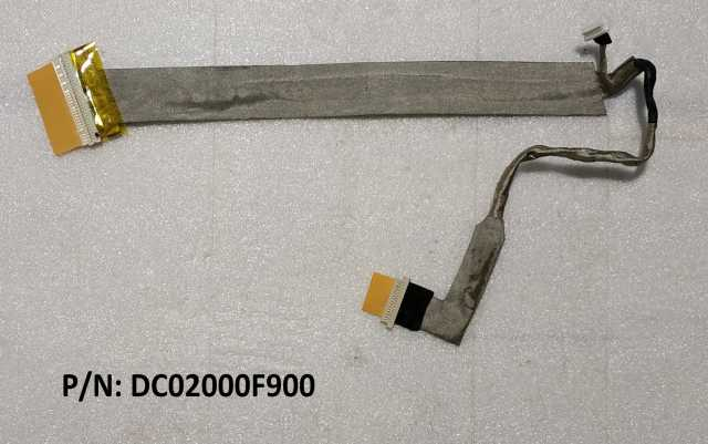Продам Шлейф матрицы ноутбука P/N: DC02000F900