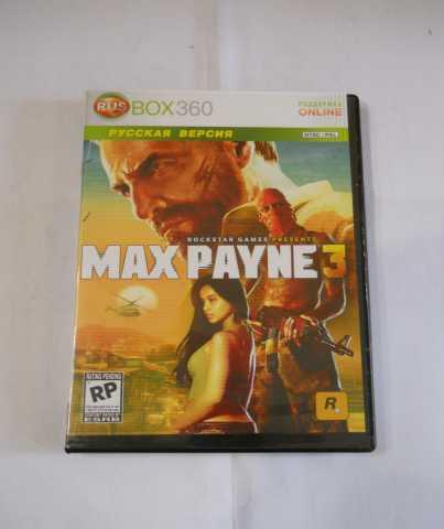 Продам Игра XBOX 360 MAX PAYNE 3