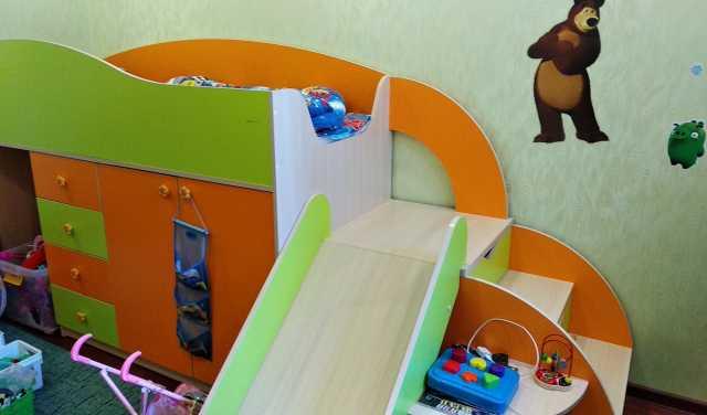 Продам Кровать-чердак Карапуз
