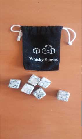 Продам Камни для виски 6 штук в мешочке