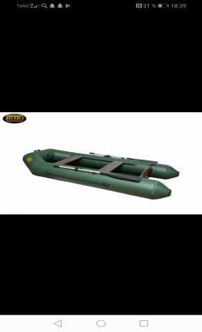 Продам: Лодка волна пвх м280 +пол книжка цена