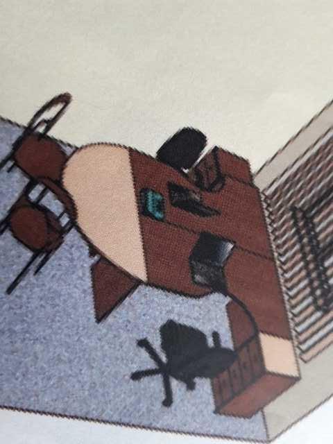 Продам стол офисный с тумбой