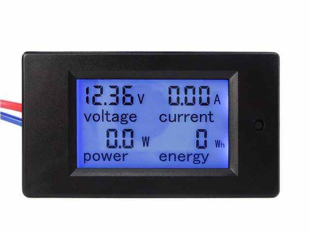 Продам Универсальный LCD измеритель DC 6.5-100V