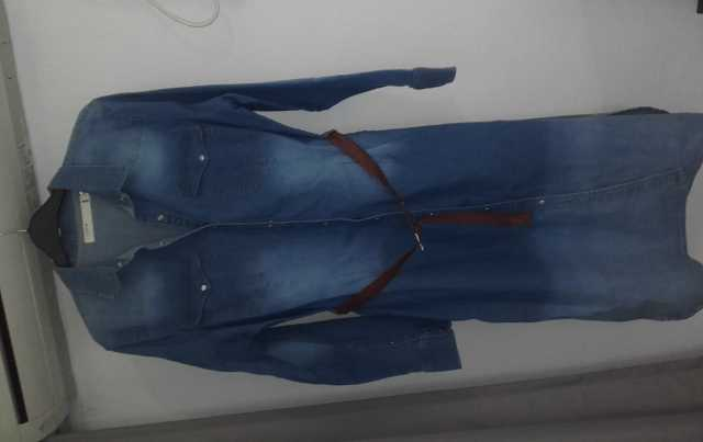 Продам платье джинсовое, сарафан из денима