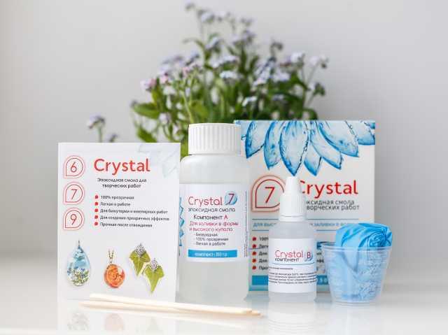 Продам Прозрачная эпоксидная смола Crystal
