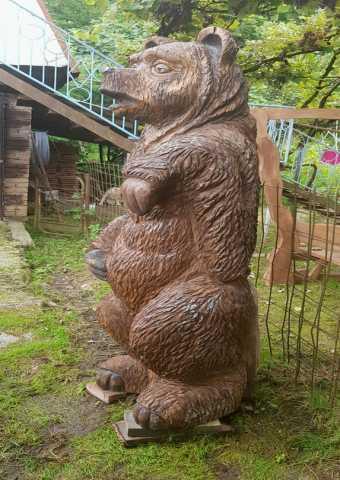 Продам Деревянный медведь
