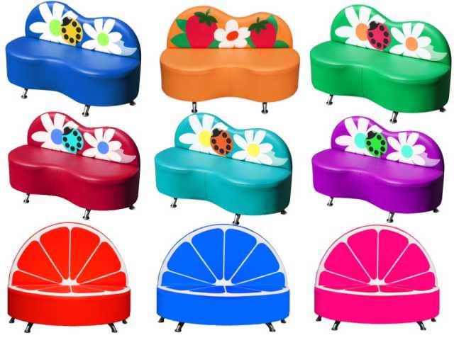 Продам: Мягкая мебель для детских центров