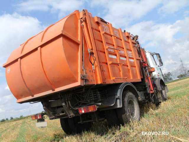 Вакансия: Водитель на мусоровоз