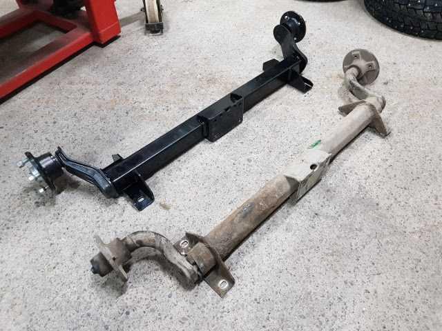 Предложение: Производство и ремонт осей для прицепов