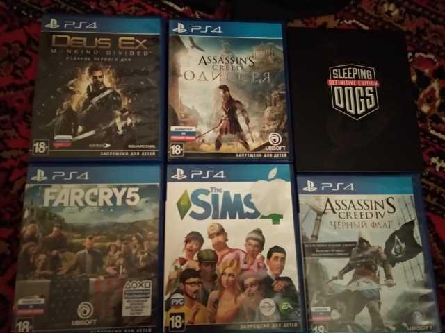 Продам: Игры PS4 обмен