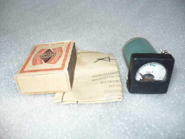 Продам: Миниатюрный микроамперметр М4228 (Россия