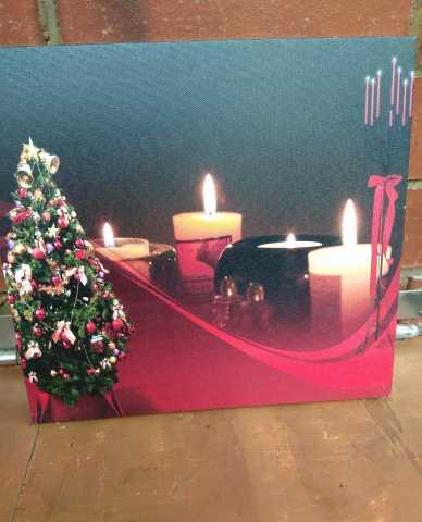 Продам Панно Ёлка со свечами