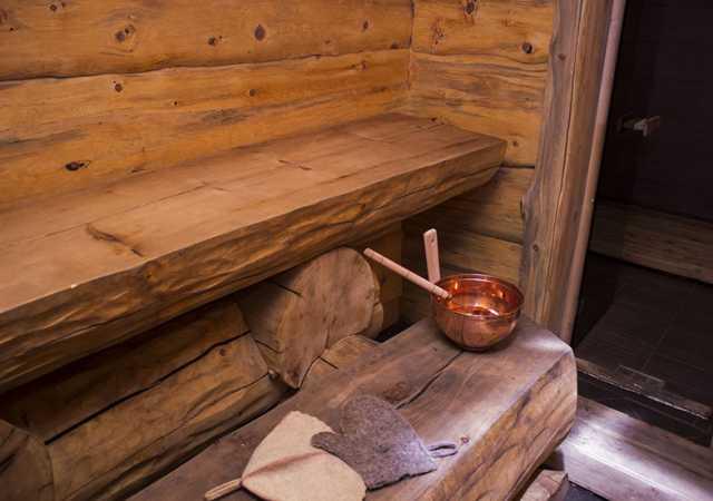 Предложение: Баня на дровах с бассейном
