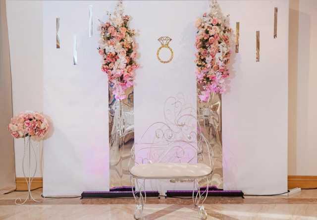 Предложение: Оформление свадеб, юбилеев