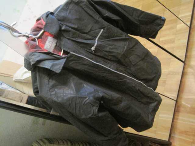 Продам Куртка с капюшоном демисезонная мальчику