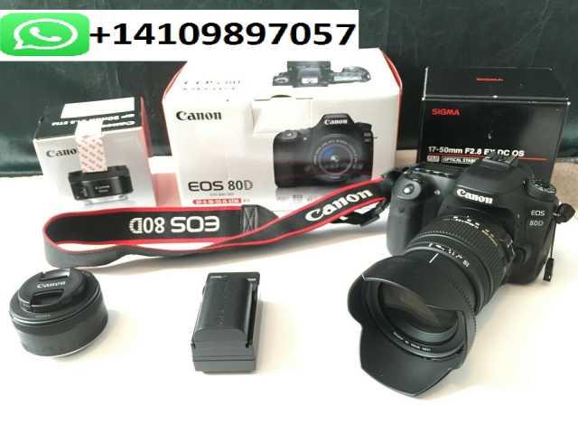 Продам Canon EOS 80D (Затвор 2353) с Sigma 17