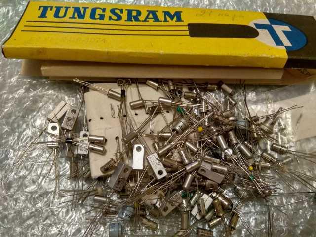 Продам транзисторы AC128K новые. германиевые