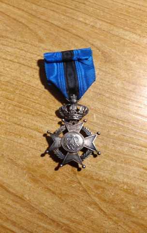 Продам Орден леопльда ll , медаль