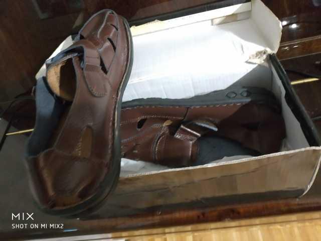 Продам Новую кожаную обувь 41 42 40
