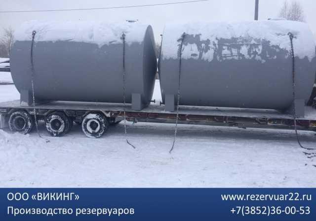 Продам Резервуар стальной двустенный 60м3