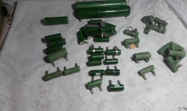 Продам ПЭВ и С5-36В и ПЭВР Резисторы