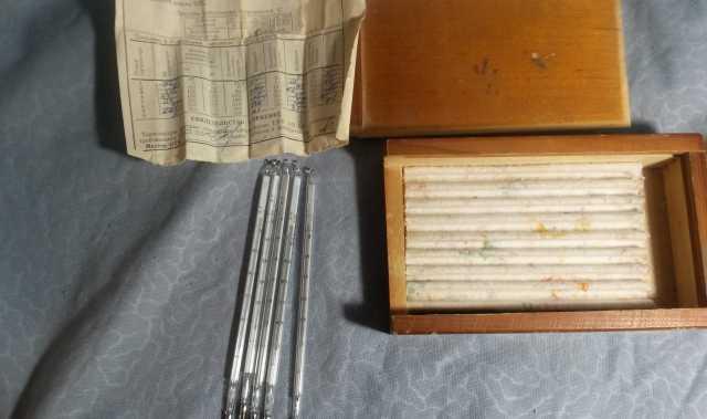 Продам Термометры ртутные стеклянные лабораторн