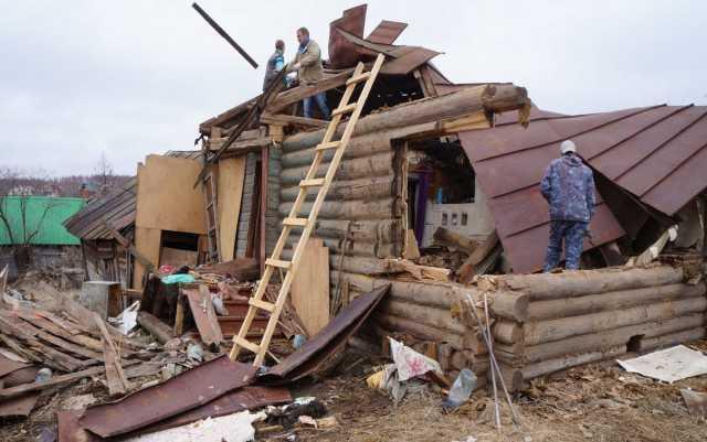 Предложение: Снос домов и старых сооружений
