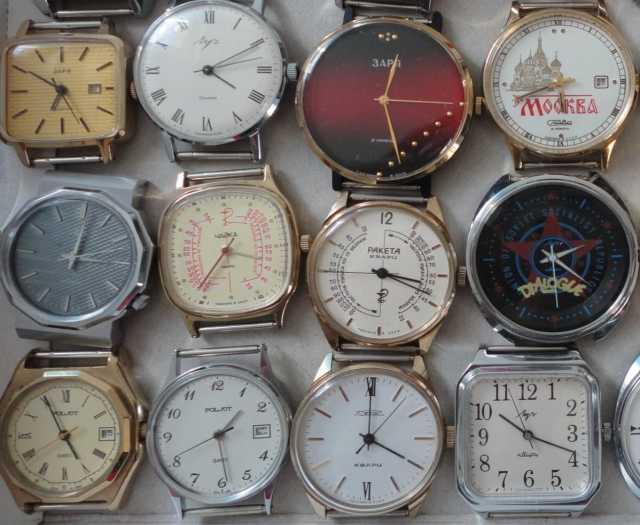 Куплю Антиквариат.Часы наручные, механиka.CCCP
