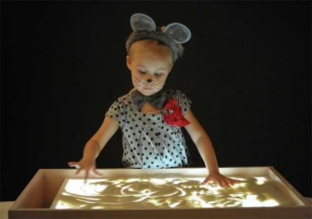 Продам Детский светящийся планшет с песком