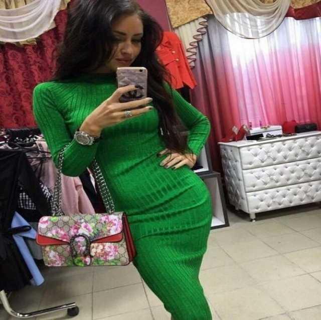 Продам Вязаное теплое платье Лапша