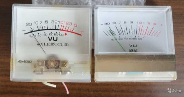 Продам Индикаторы стрелочн VU отяпонског мафона
