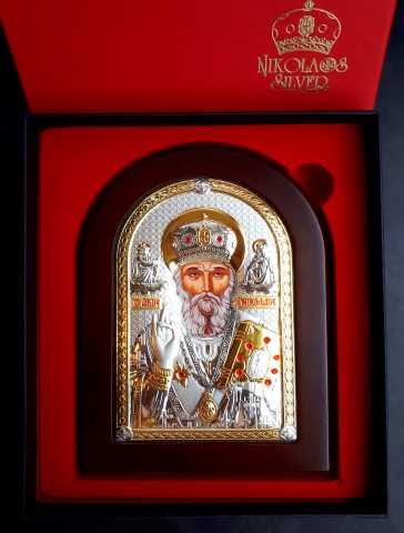 Продам Икона Святого Николая Чудотворца из Бари